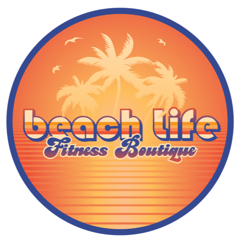Beach Life Fitness Boutique Logo Condensed